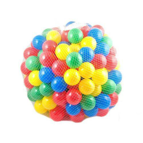 100 kusů balonky plastově míčky kuličky