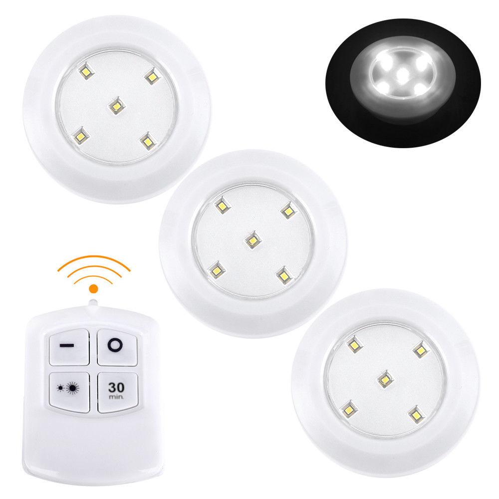 LED osvětlení s dálkovým ovládáním 3x 50lm časovač