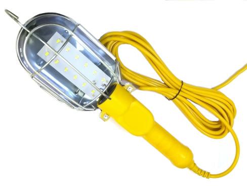 Lampa dílenská 18 LED montážní s háčkem kabel 10 metrů