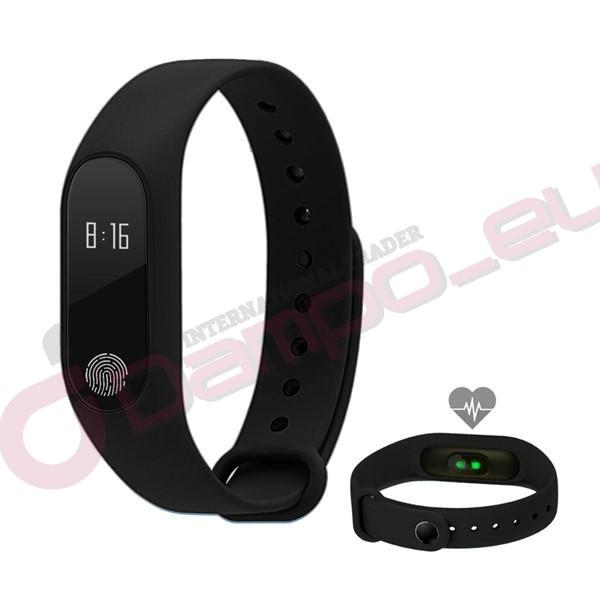 Smart Band M2 vodotěsný chytrý náramek fitness