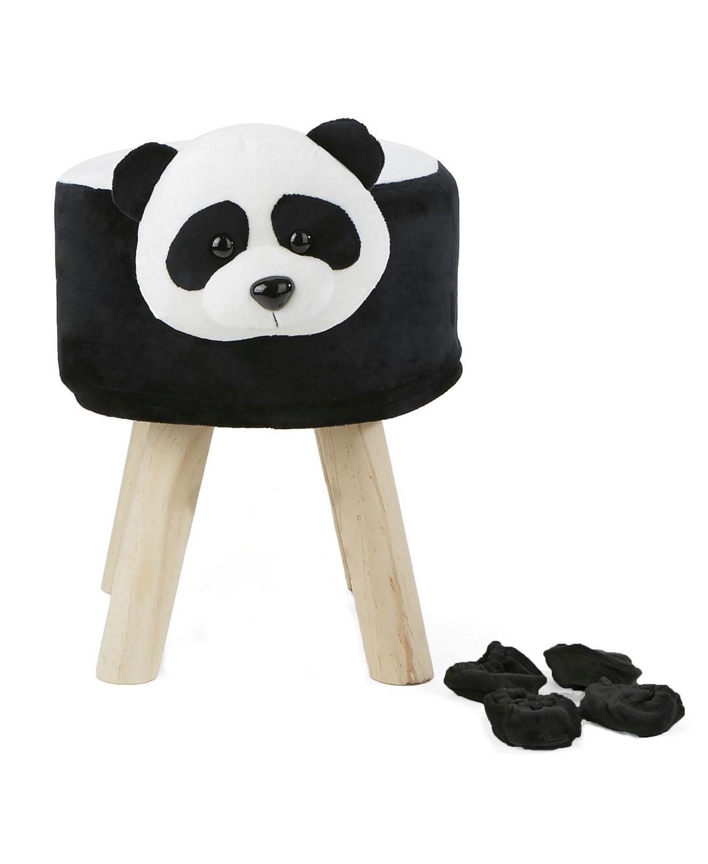 Taburet do dětského pokoje krásná stolička pro děti panda