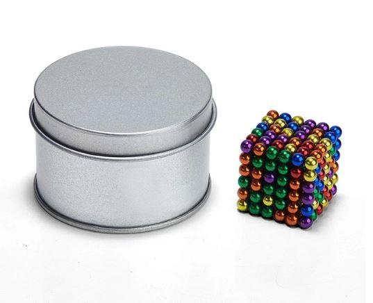 Barevné magnetické kuličky NeoCube 3 mm