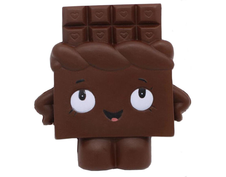 Mačkací antistresová hračka squishy - Čokoláda