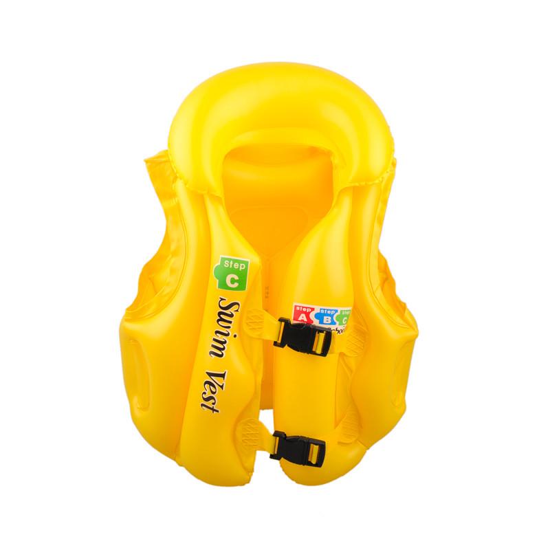 Vesta plavecká pro děti nafukovací POOL žlutá
