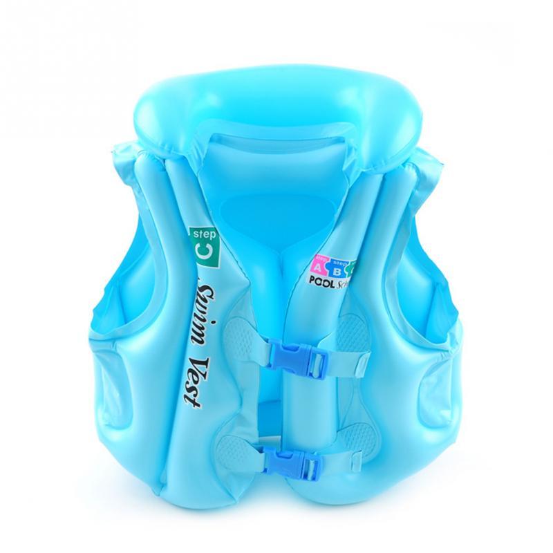 Vesta plavecká pro děti nafukovací POOL modrá