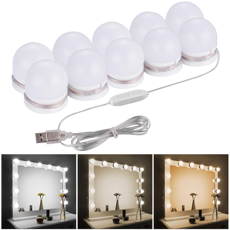 Led světla make up lampičky na zrcadlo k toaletnímu stolku