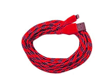 Datový USB kabel Lightning pro iPhone barva červená
