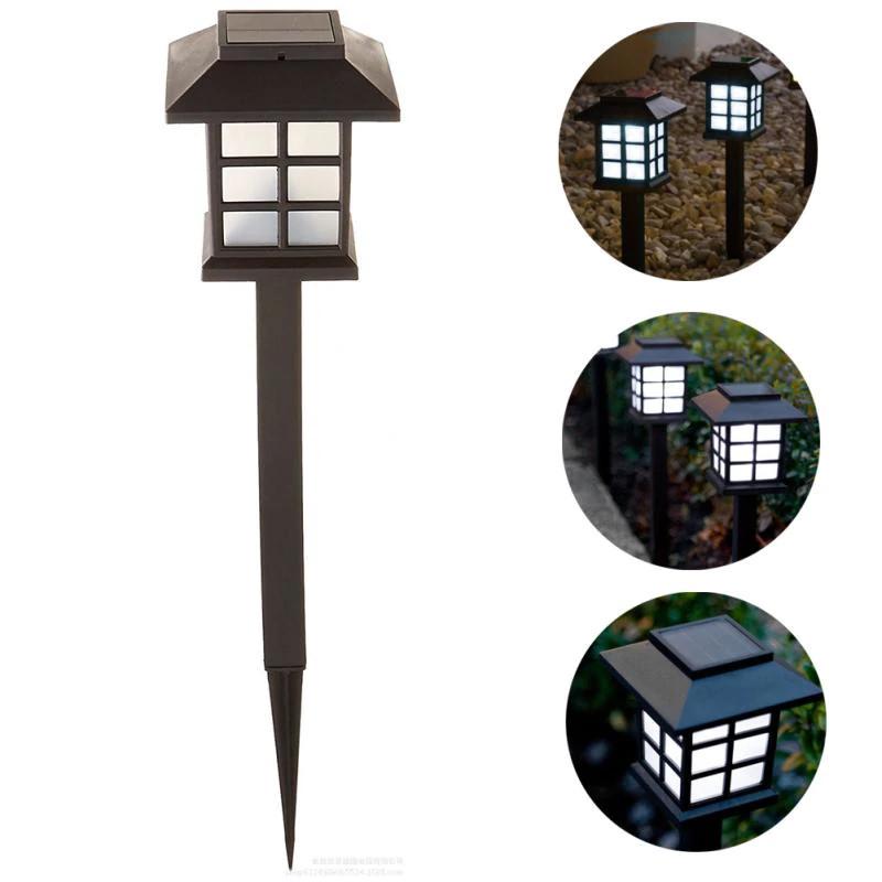 Zahradní solární lampa LED světlo světelný senzor
