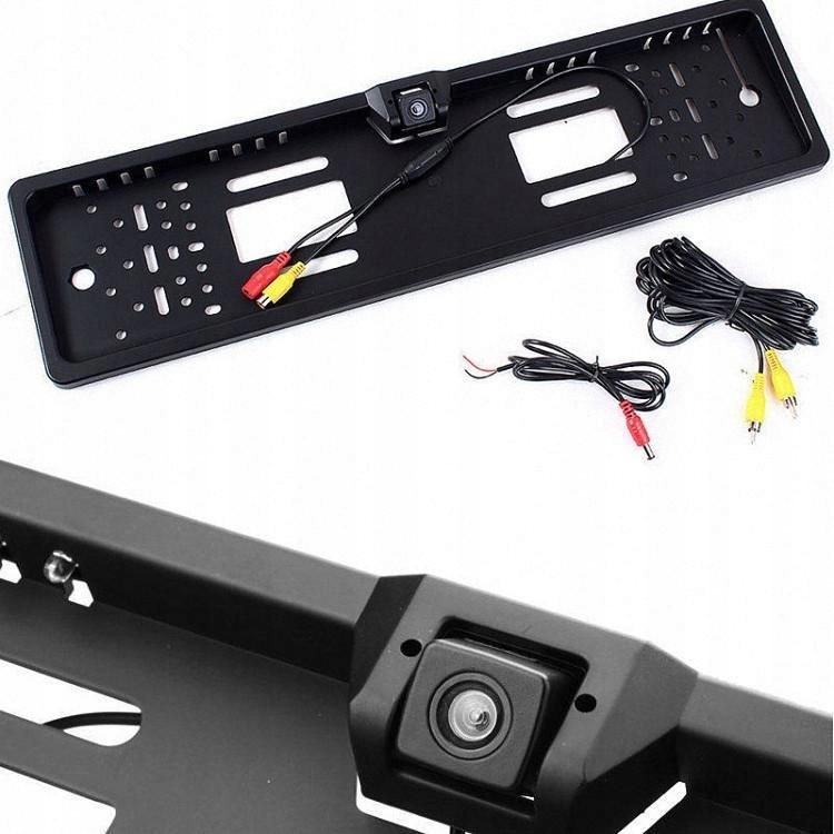 Couvací kamera v rámečku SPZ parkovací kamera