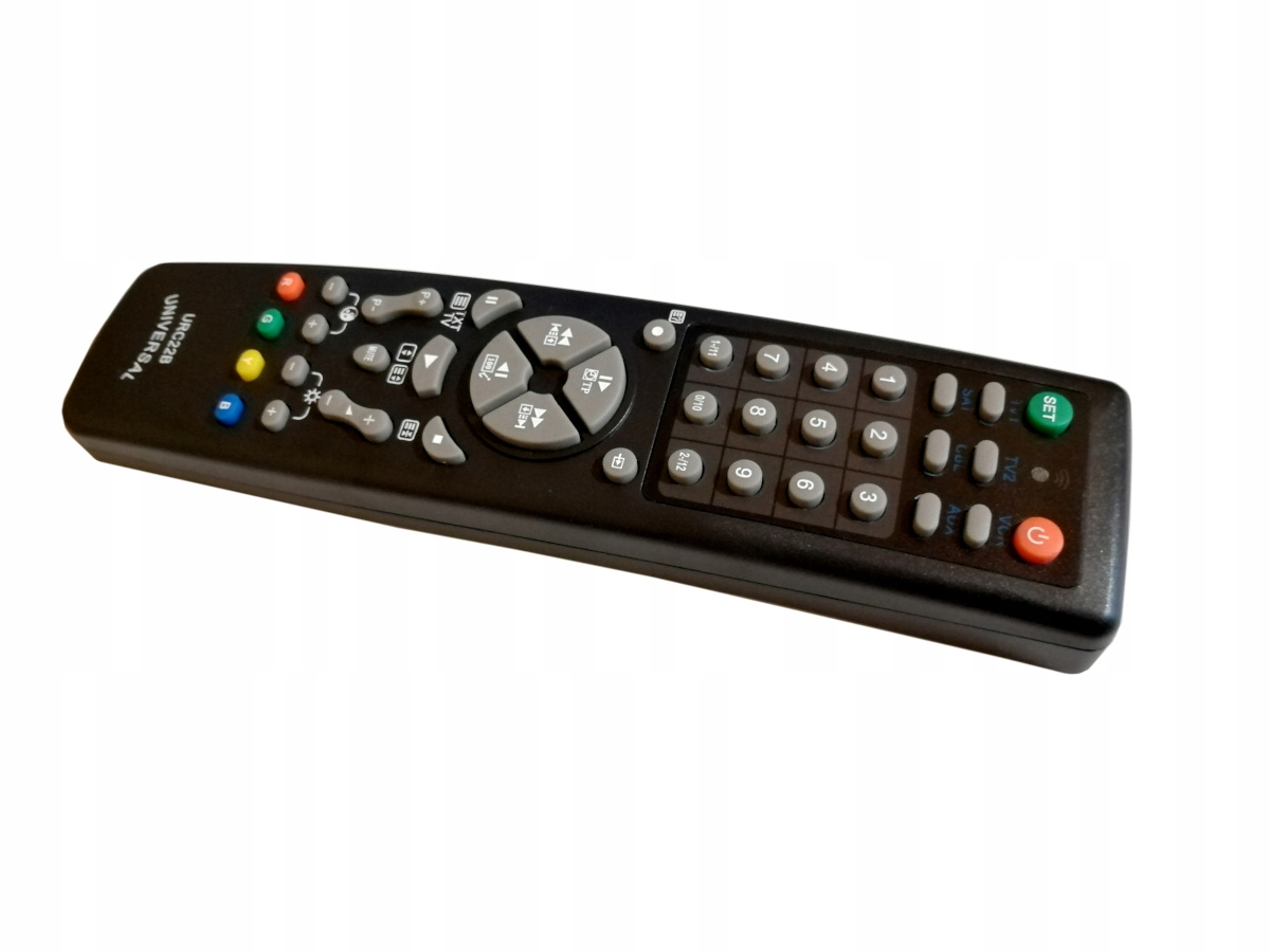Univerzální dálkový ovládač pro tv dvd audio sat
