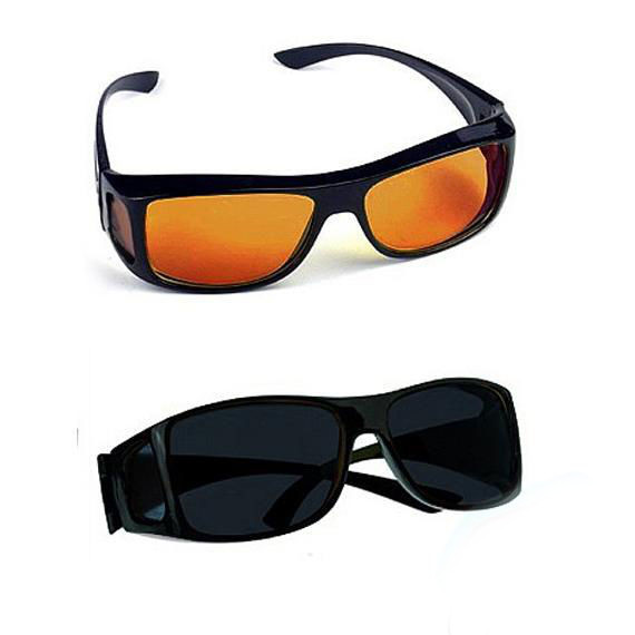 Brýle hd vision polarizační pro řidiče + protisluneční