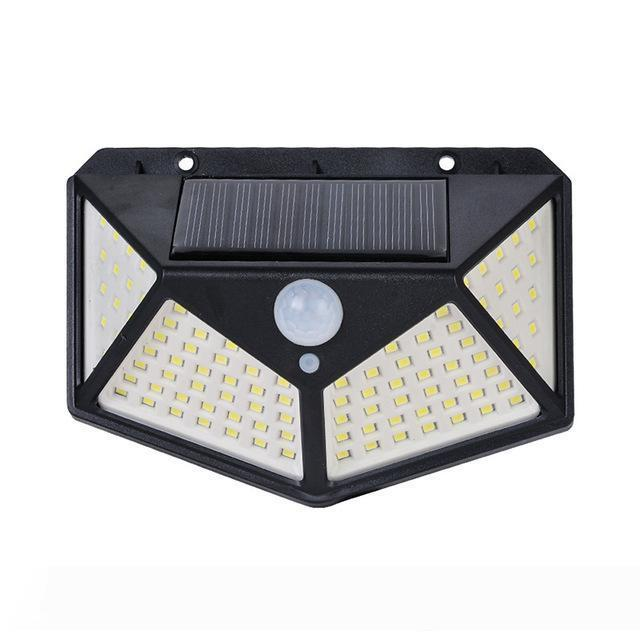 Venkovní solarní LED světlo s detekcí pohybu 100 LED