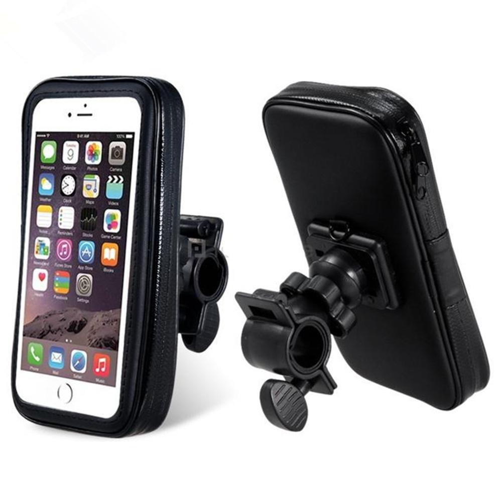 Voděodolný držák mobilu na kolo řidítka