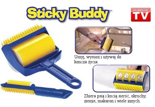 Sticky buddy - lepící váleček na nečistoty 2 kusy