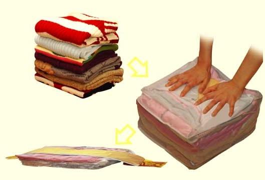 Vakuový pytel - úložný vak rozměr 100 cm x 70 cm