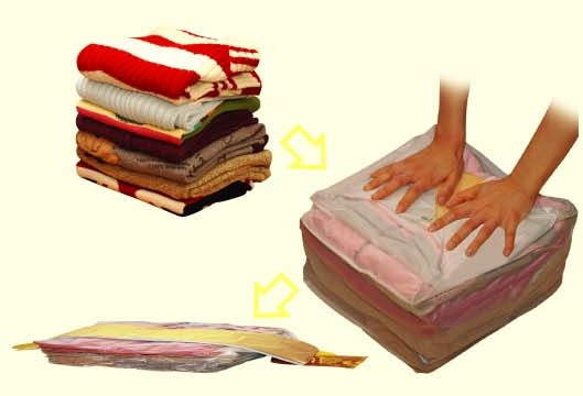 Vakuový pytel - úložný vak rozměr 50 cm x 60 pytle