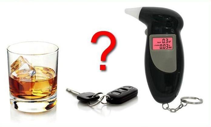 Digitální alkoholtester + 5 x nátrubky zdarma