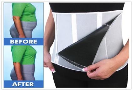 Slimming Belt břišní pás na hubnutí 130 cm x 24 cm