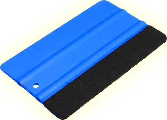 Plastová stěrka s filcem na karbon fólie carbon