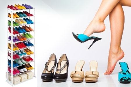 Stojan na boty stabilní lehký botník