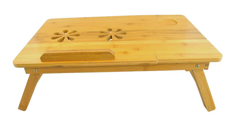 Skládací stolek pod laptop do postele + šuplík