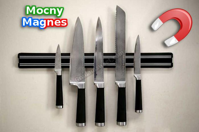 Magnetická lišta držák na nože 33 cm do kuchyně