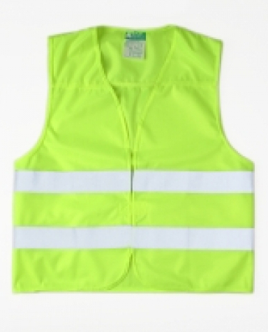 Reflexní vesta - barva žlutá bezpečné na silnici