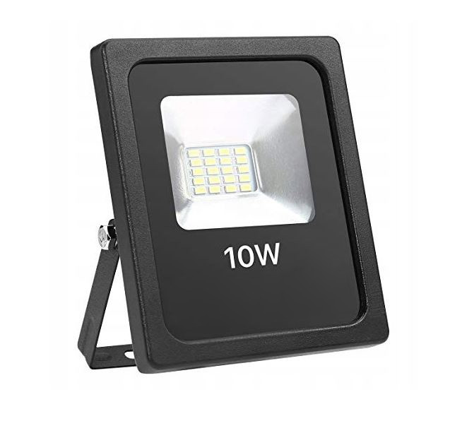 Slim halogen lampa reflektor led 10w studená bíla