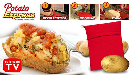 Kapsa na pečení brambor v mikrovlnce POTATO EXPRES
