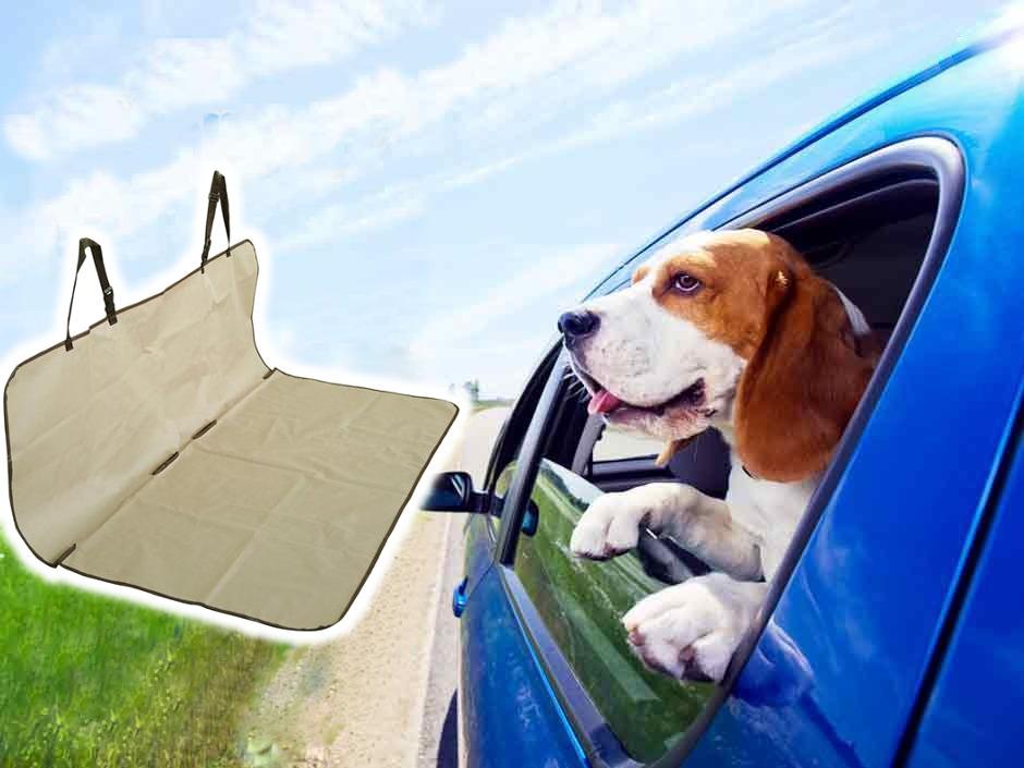 Voděodolný potah do auta pro psa ochranná podložka