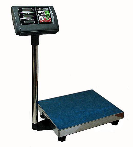 Digitální váha do skladu do 300 kg skladová lcd