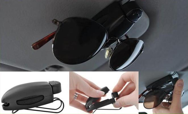 Klip na brýle držák vizitky s klipem do auta