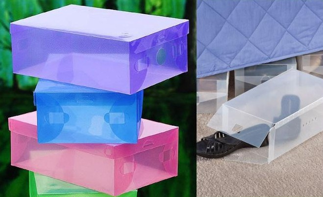 70e24ddc3 Krabice na boty plastový organizér pod postel obal