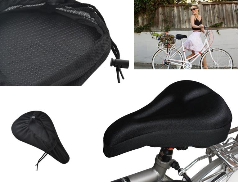 Gelový potah sedla gelové sedadlo sedátko na kolo
